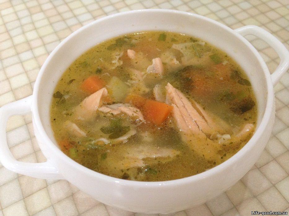 Традиционный рецепт супа из семги
