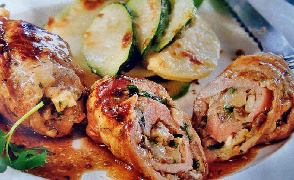 Горячие блюда из курицы  рецепты