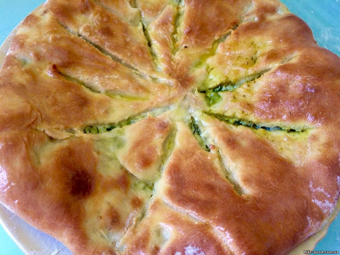 Пирог с сыром закрытый