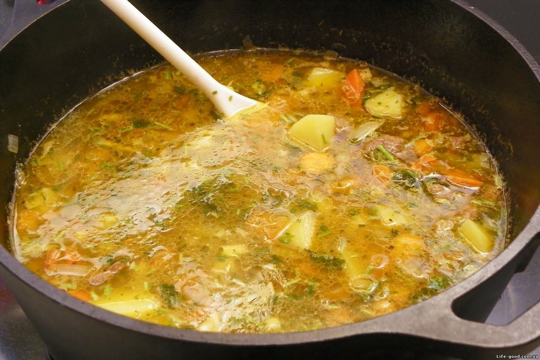 Суп из свинины рецепты с рисом и картофелем