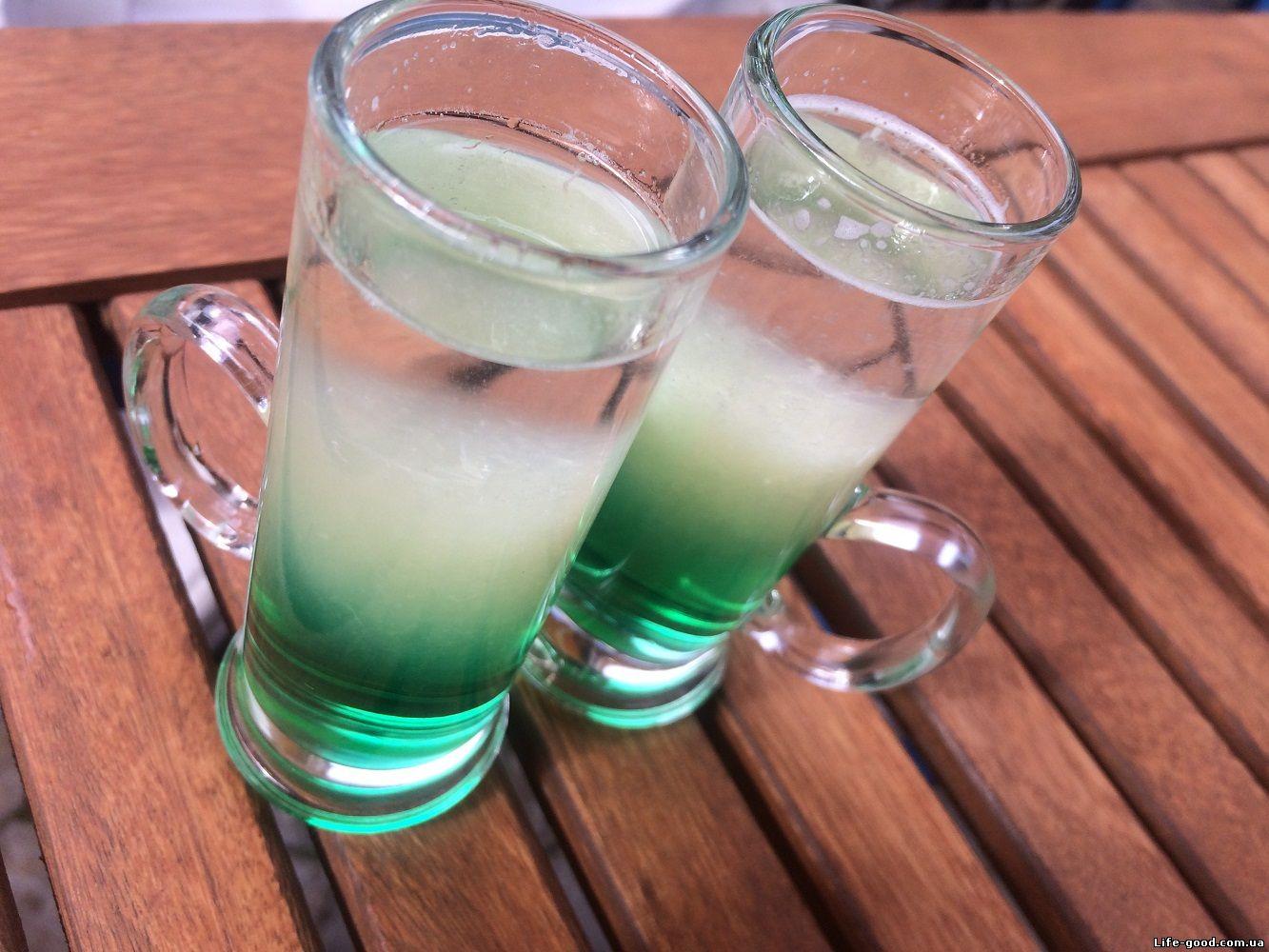Коктейль зелёный мексиканец рецепт