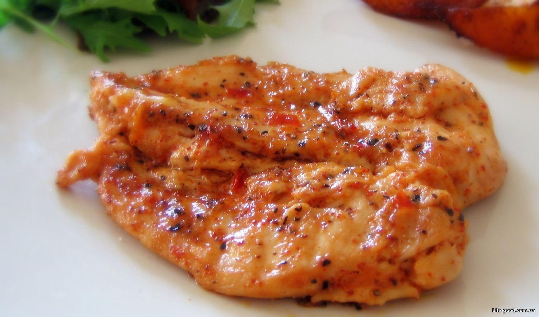 рецепт куриное филе в томатном соусе на сковороде