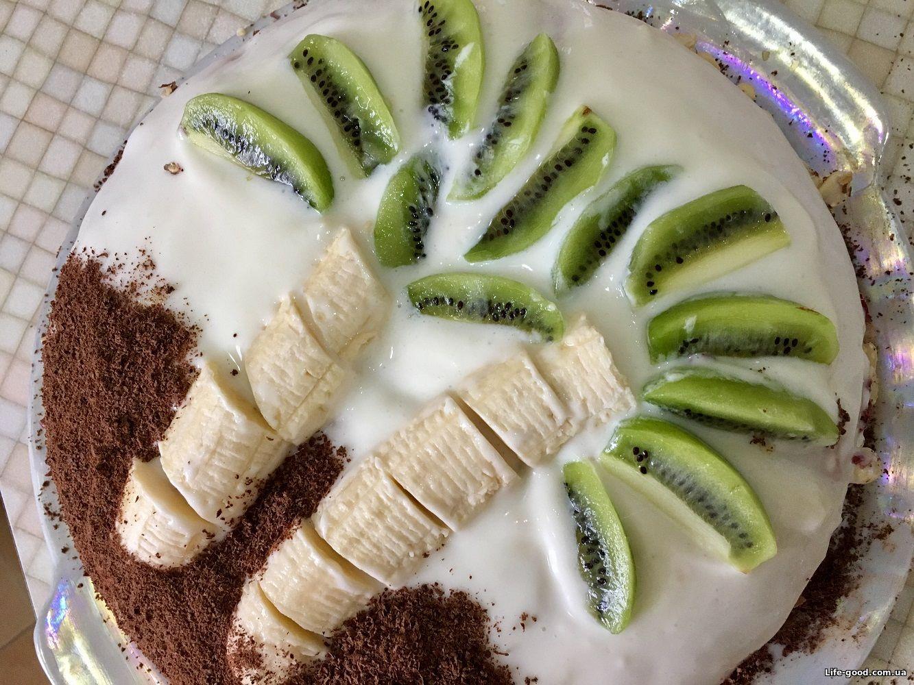 Торты с бананами пошаговые фото рецепты