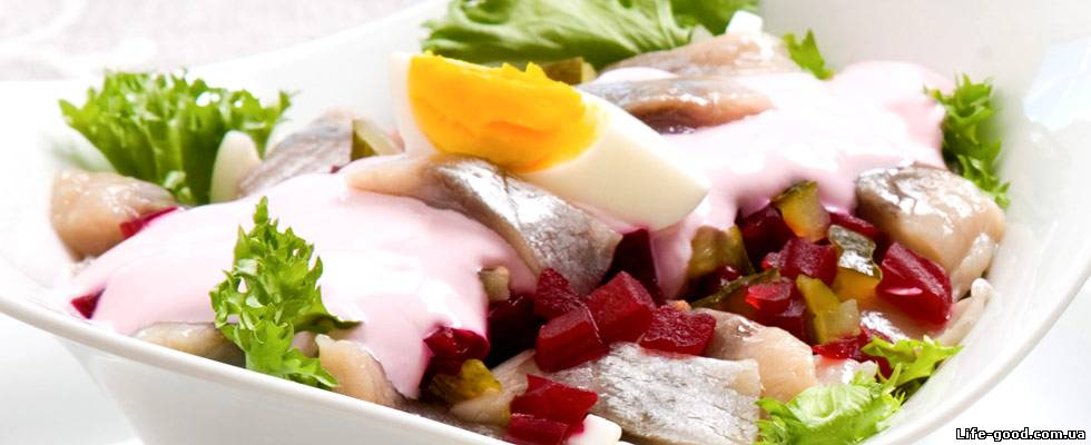рецепт для салата под шубой