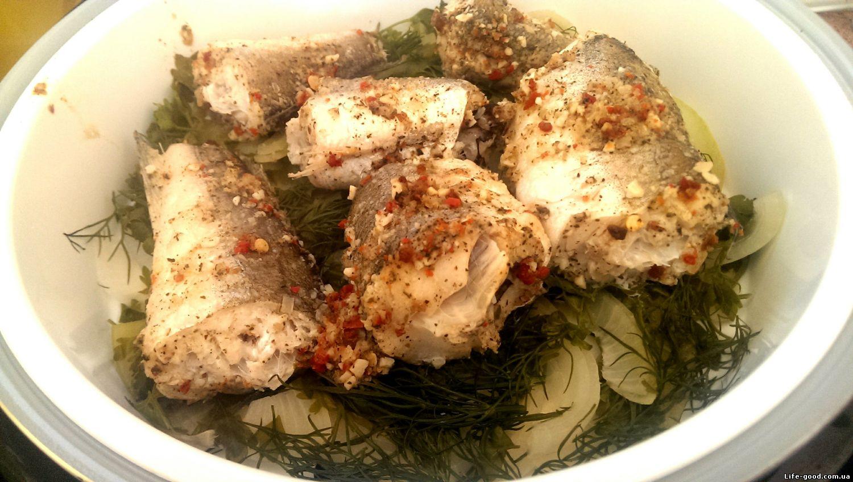 рецепты с рыбой голец в мультиварке