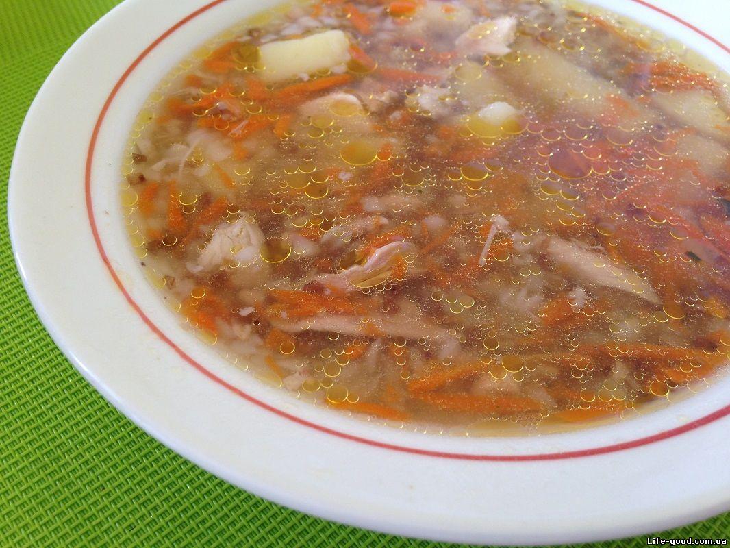 Как готовить гречневый суп