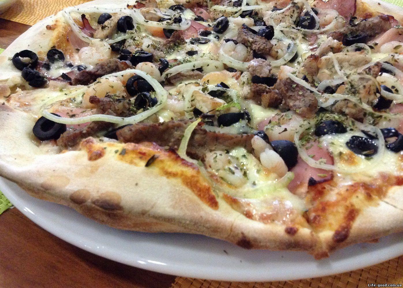 Дрожжевое сдобное тесто для пиццы (тонкая основа) - Дело Вкуса 100