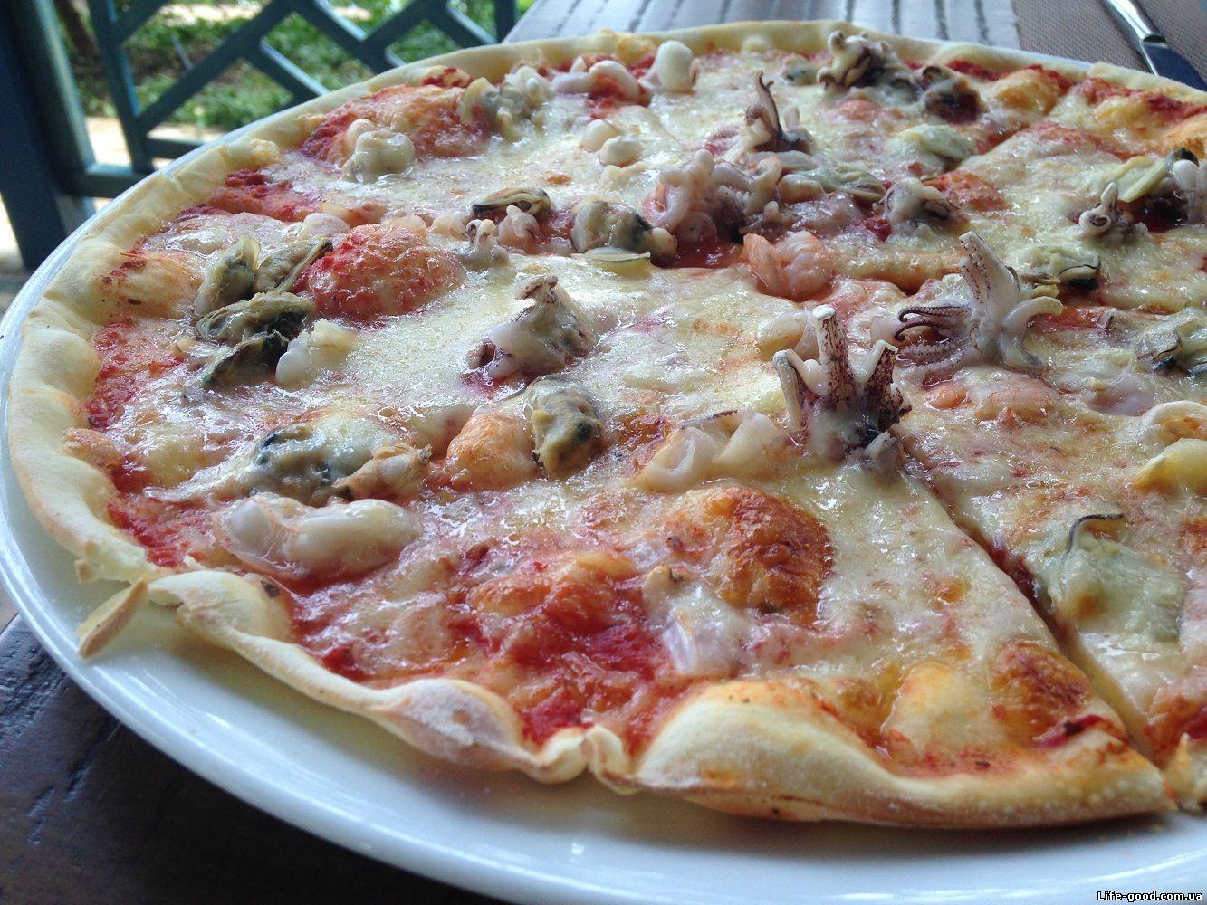 Тесто для пиццы без дрожжей - кулинарный рецепт