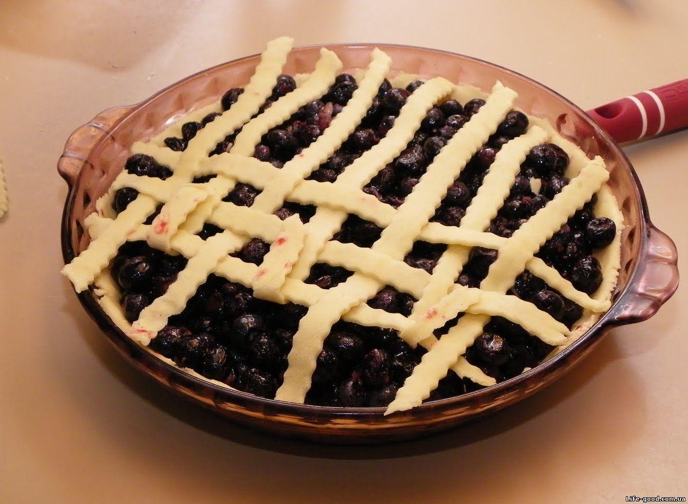 Рецепт : Тертый пирог с черникой на m 12