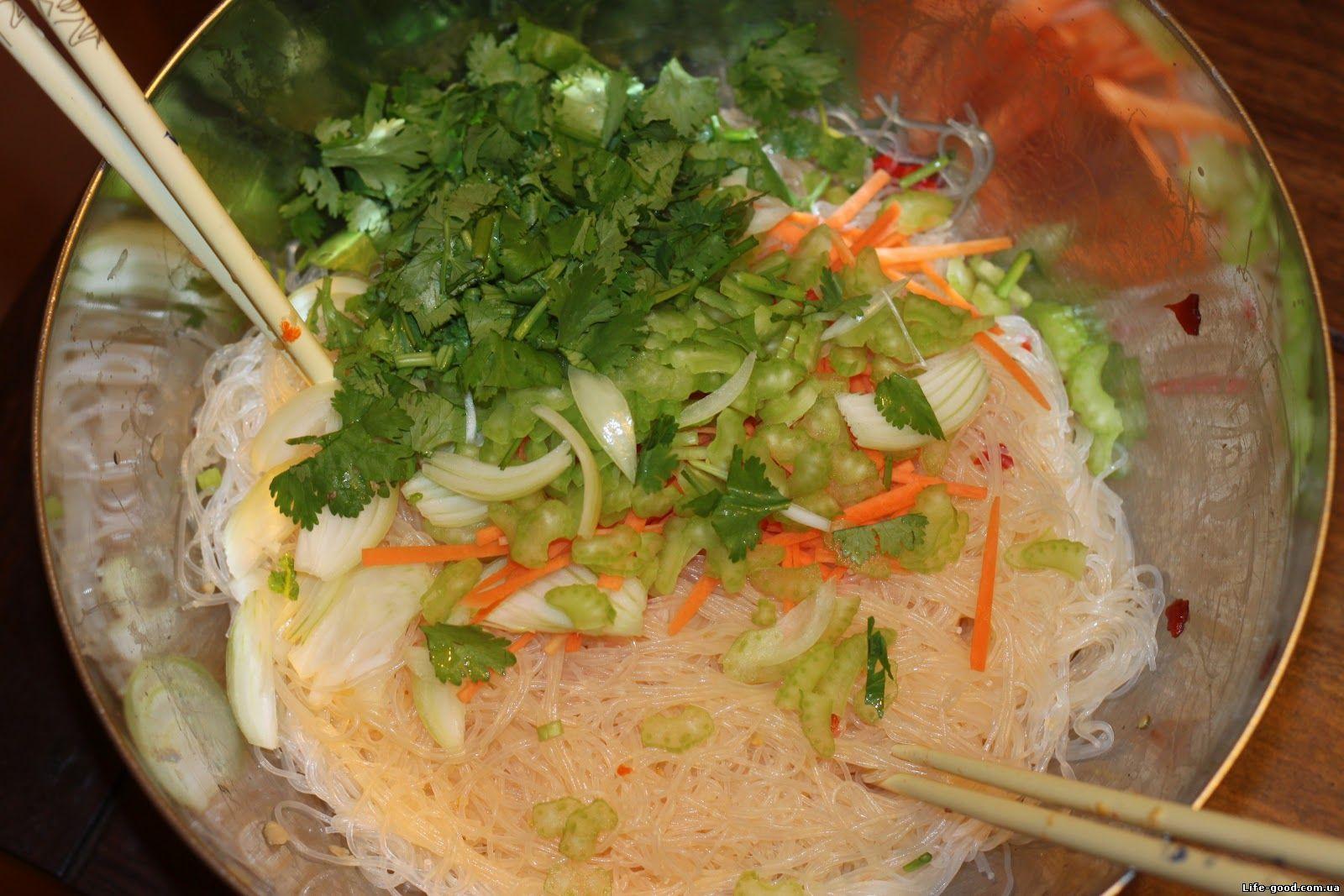 рисовая лапша рецепты с фото простые