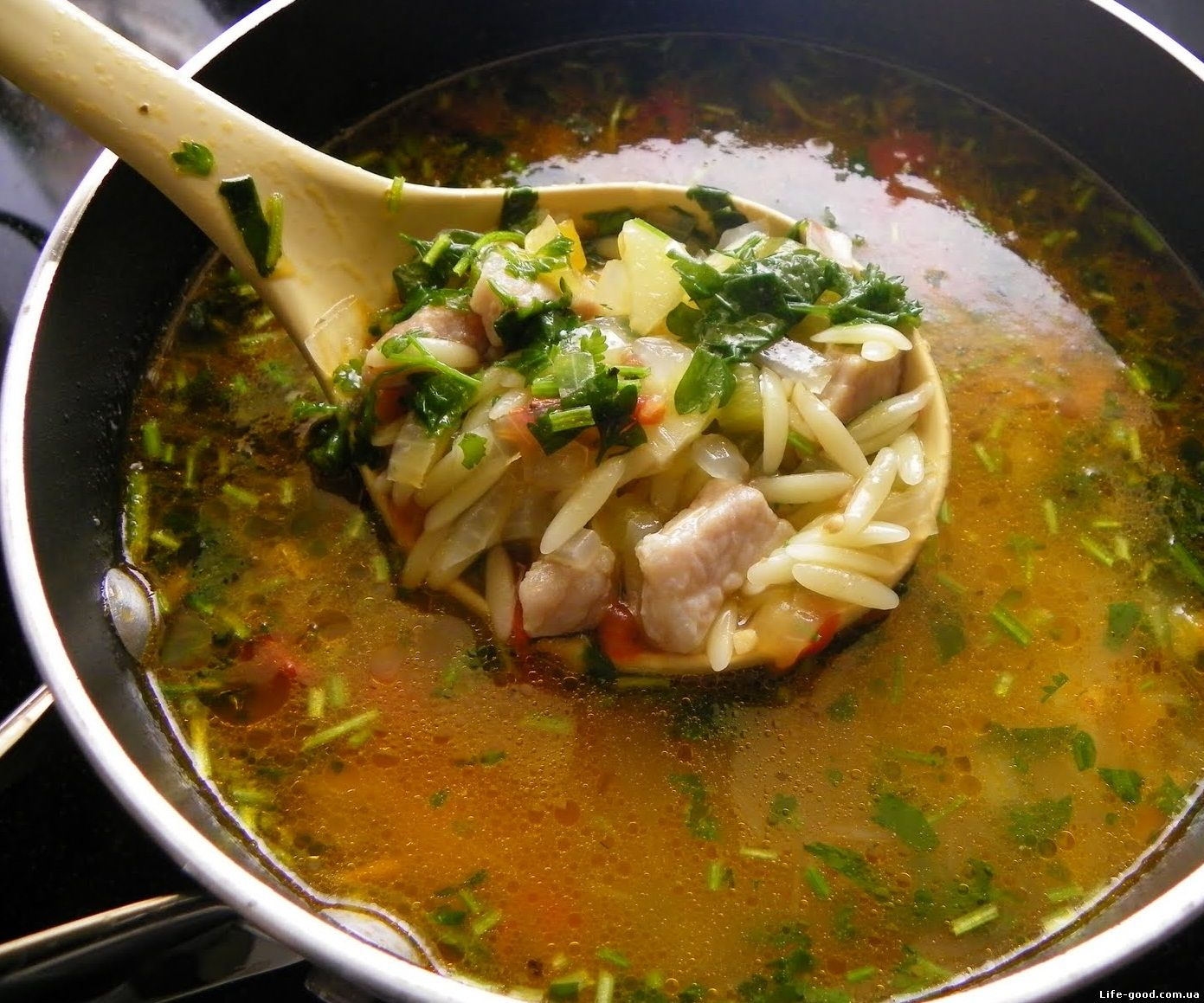 Супы из свинины рецепт с фото в домашних условиях